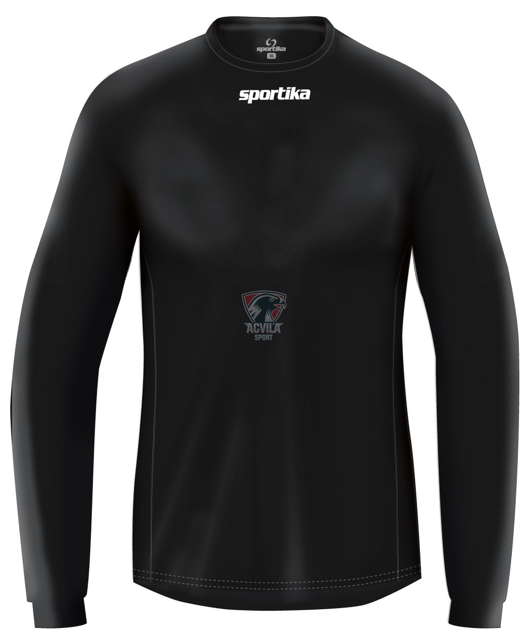 Tricou Sportika cu mineca lunga Baku